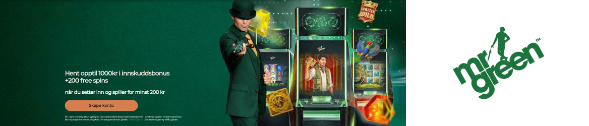 mr green casino banner